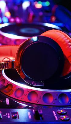 Écouteurs de DJ - Fond d'Écran en QHD pour Mobile
