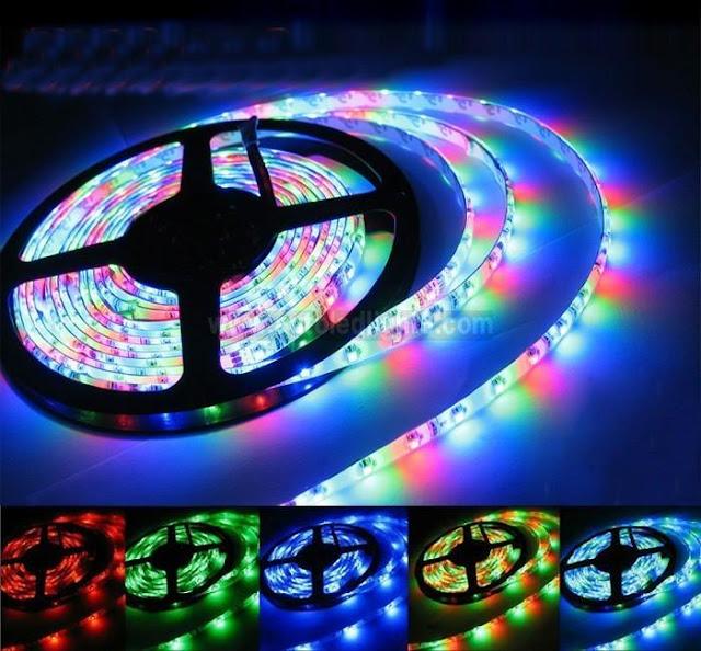 Đèn led dây 7 màu siêu sáng