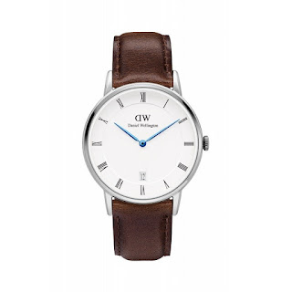 DANIEL WELLINGTON Ladies Dapper Bristol 34mm Silver