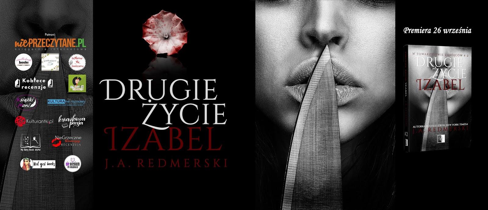 """#ZAPOWIEDŹ - """"Drugie życie Izabel"""" J. A. Redmerski"""