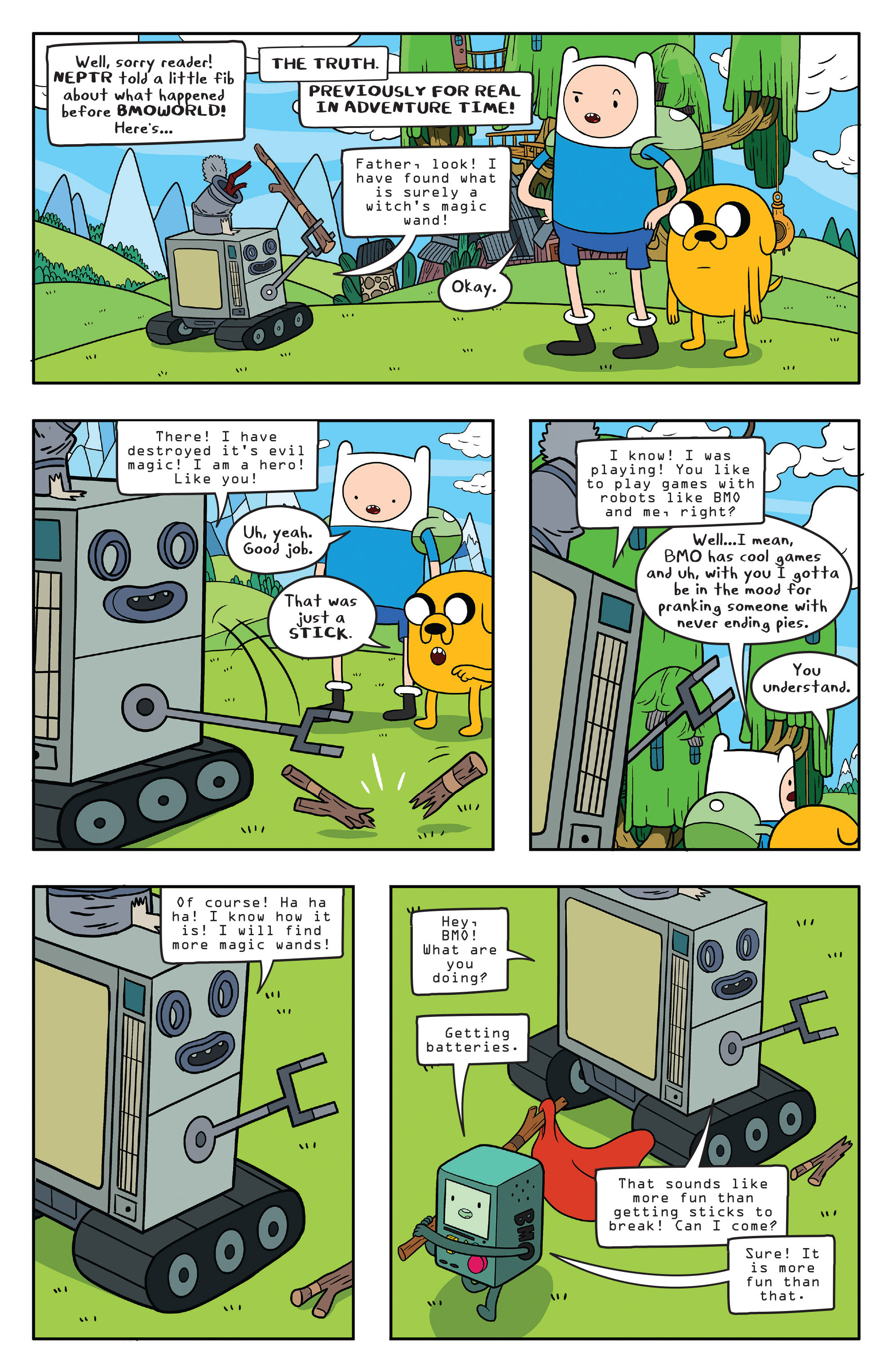 Read online Adventure Time comic -  Issue #56 - 19