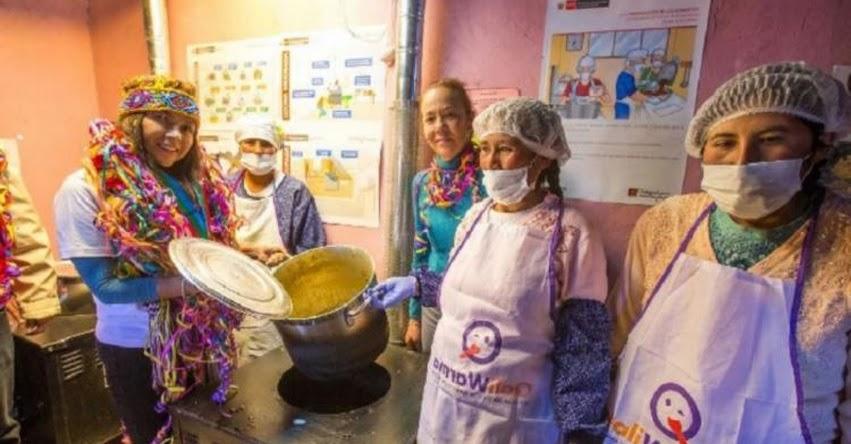 MIDIS entrega cocinas mejoradas a favor de escolares de Puno - www.midis.gob.pe