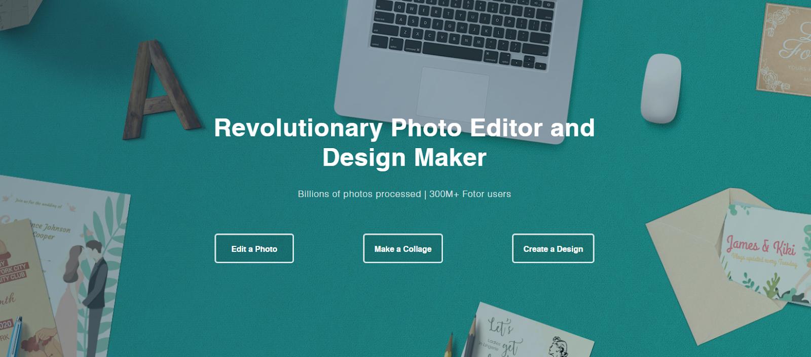 fotor photo editor pro