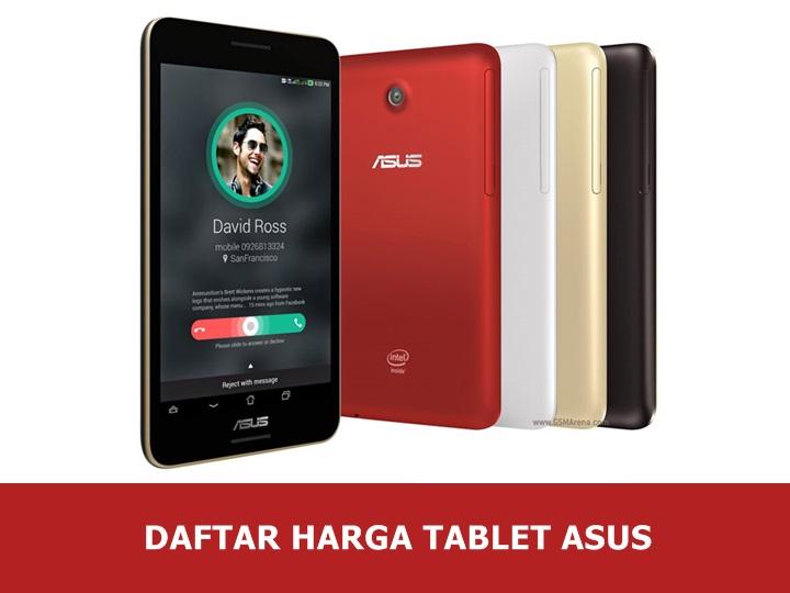 Daftar Harga Tablet ASUS