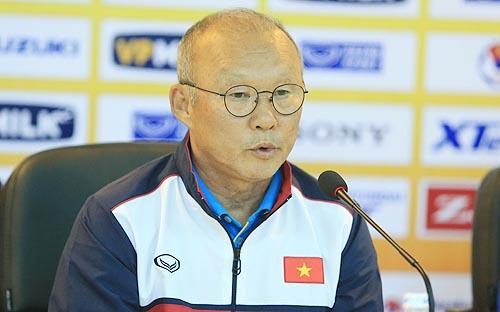 HLV Park Hang-seo cùng U23 Việt Nam sẽ sang Trung Quốc vào ngày 2/1/2018. Ảnh: Ngọc Dung