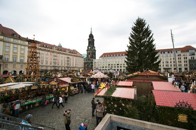 Mercatino di Natale-Altmarkt-Dresda