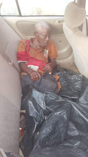 This na the photo of the elderly man wey truck kill