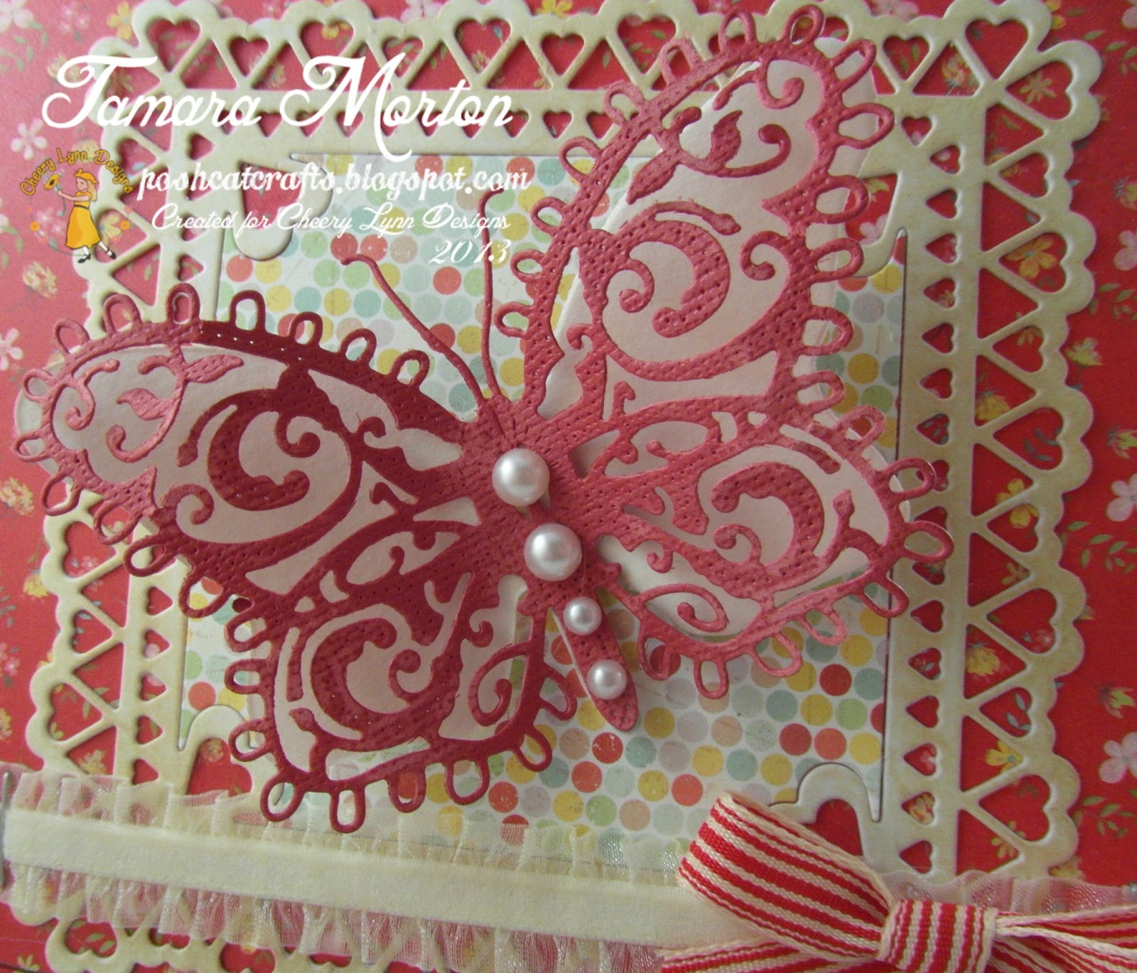 Big, Bold and Beautiful Butterfly! - Cheery Lynn Designs ...