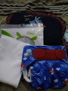 Isi Paket Little Hippo Easy Fit