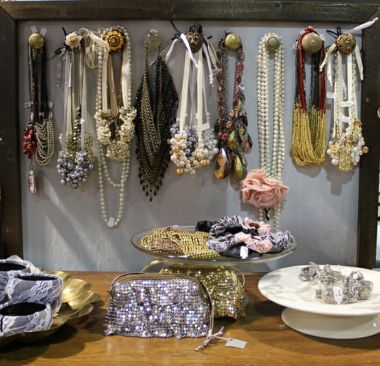 Art Bead Scene Blog: More Jewelry Display Ideas