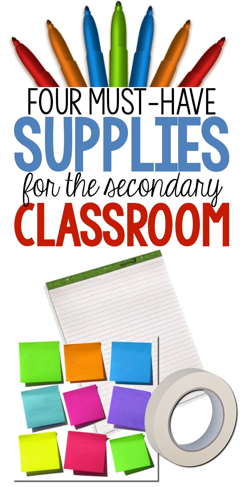 four school supplies you must have - room 213