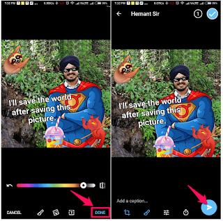 Cara Menambahkan Teks Dan Stiker Ke Foto Di Telegram