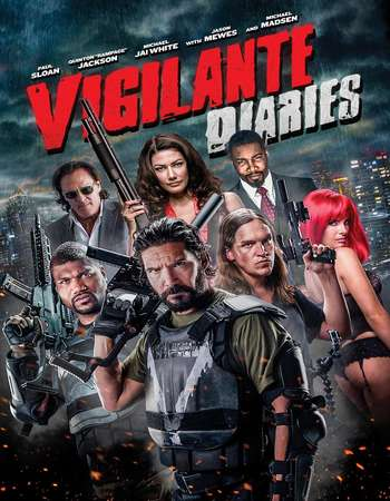 Poster Of Vigilante Diaries 2016 English 350MB BRRip 720p ESubs HEVC Free Download Watch Online Worldfree4u