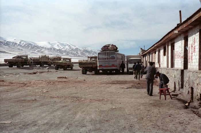 Qinhaï, Golmud, Tuotuo Heyan, © L. Gigout, 1990