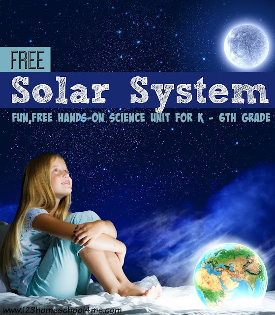 Solar System on 1st Astronaut On The Moon Worksheets