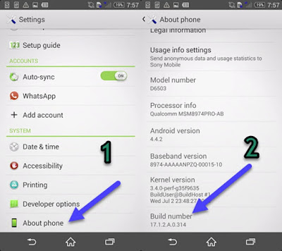 Cara Update Sony Xperia ZR ke Android 5.1.1 Lollipop Lengkap!