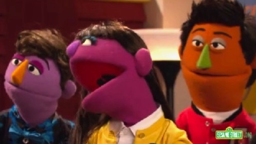 Muppet versions of 'Glee' characters