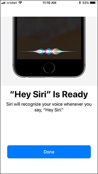 riconoscimento vocale Siri