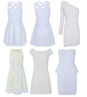 vestidos de blanco 2012