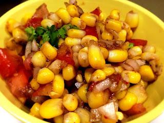 Corn Chaat - Foodocon.com