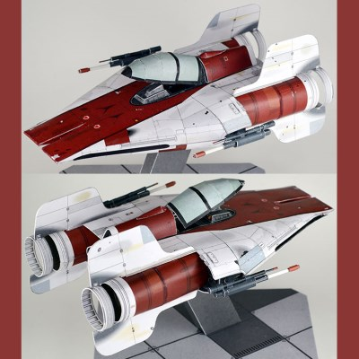 Star Wars A-wing Paper Model
