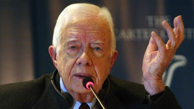 Donald Trump tapping into 'inherent racism' in US: Jimmy Carter