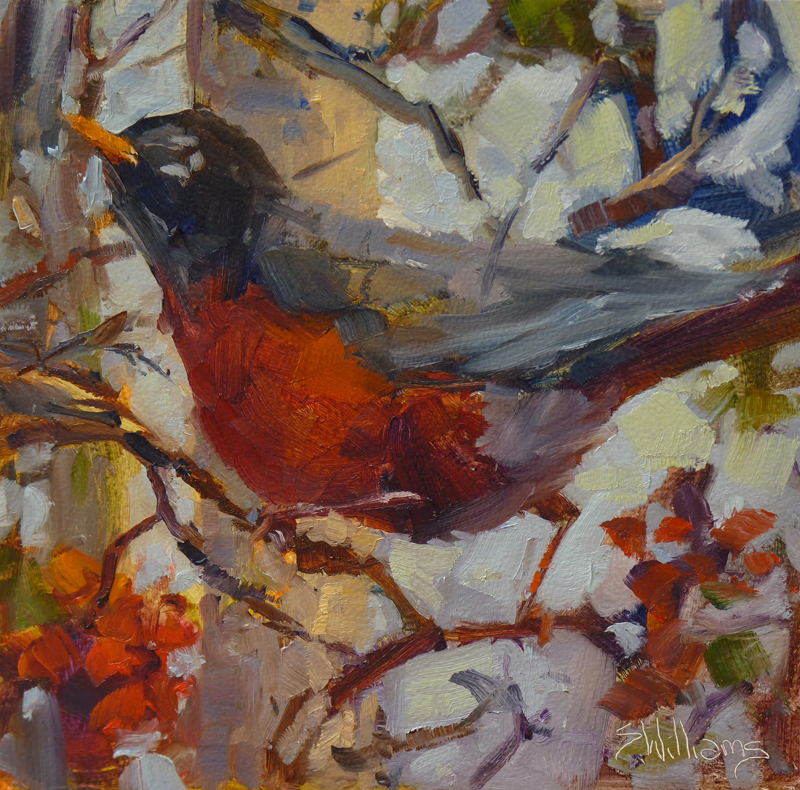 Sharon lynn williams 39 art blog new bird painting by for Sharon williams paint