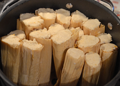how to cook tamales at home