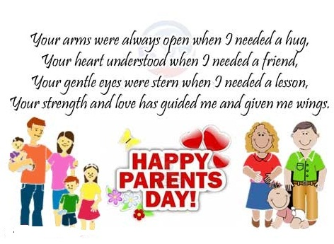 Happy Parents Day Greeting Messages Happy Valentines Day