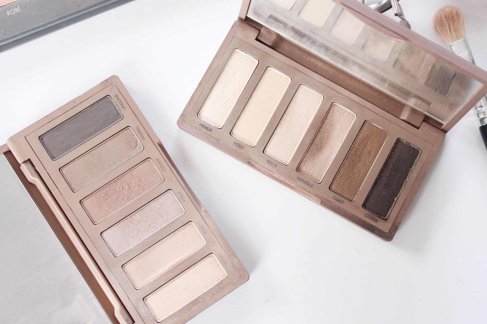MY MOST USED EYESHADOW PALETTES - Urban Decay Naked 2, Urban Decay Naked Basics 1 + 2, Chi Chi Nudes Palette, LORAC Pro 2 Palette - CassandraMyee