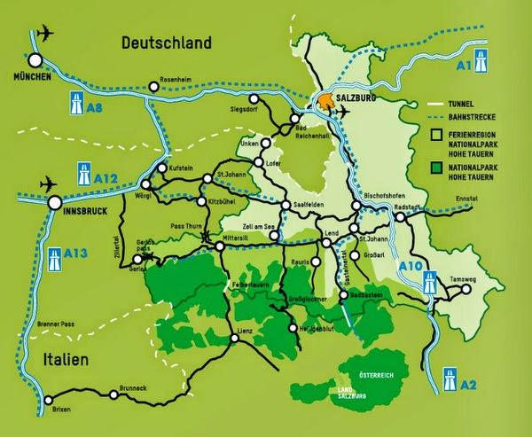 Hohe Tauern Karte.München News Ausflugstipp Bergsommer Am Großvenediger