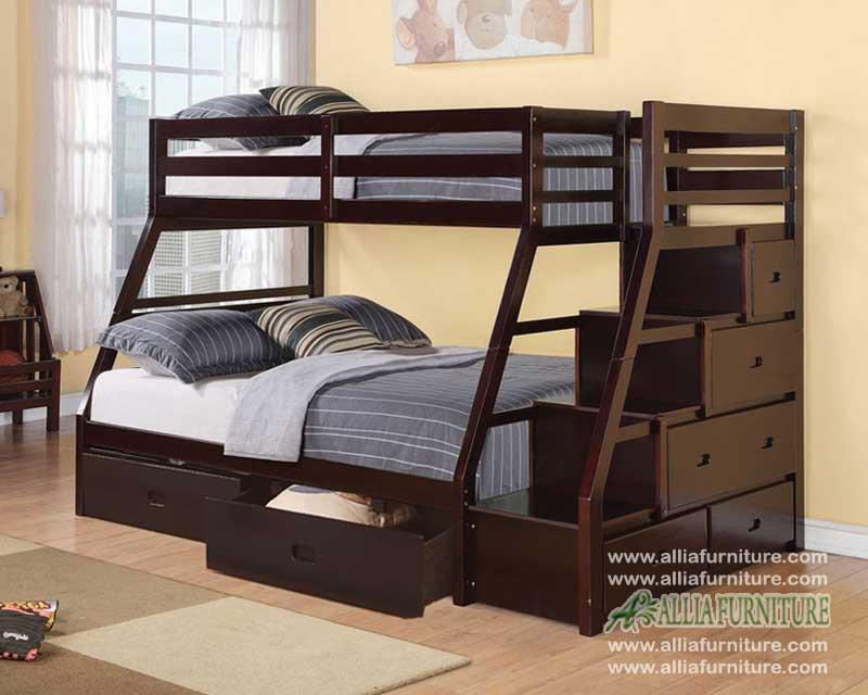 tempat tidur ranjang susun anak dakota