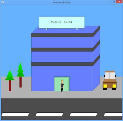 Multiplex - C++ graphics program Theater View