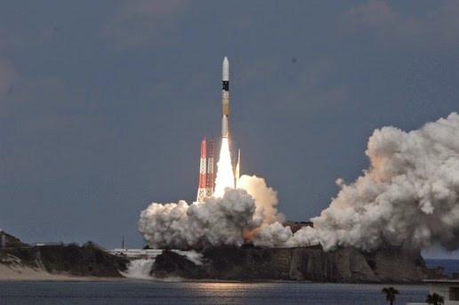 The launch of Hayabusa 2
