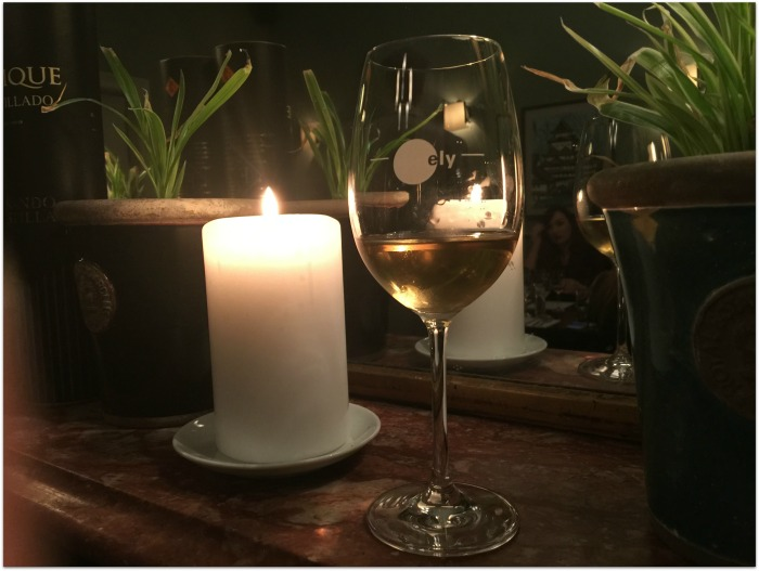 Fino sherry at ely wine bar Dublin