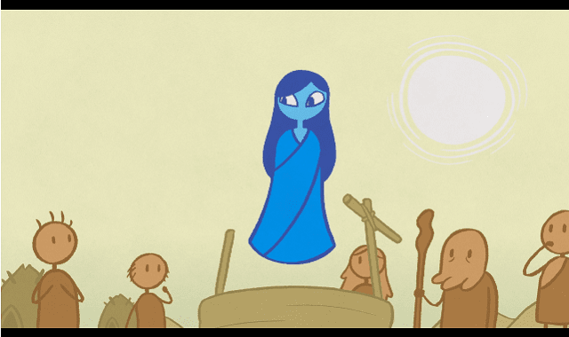"""Water Spirit,"" a Cute, Short Animated Film"