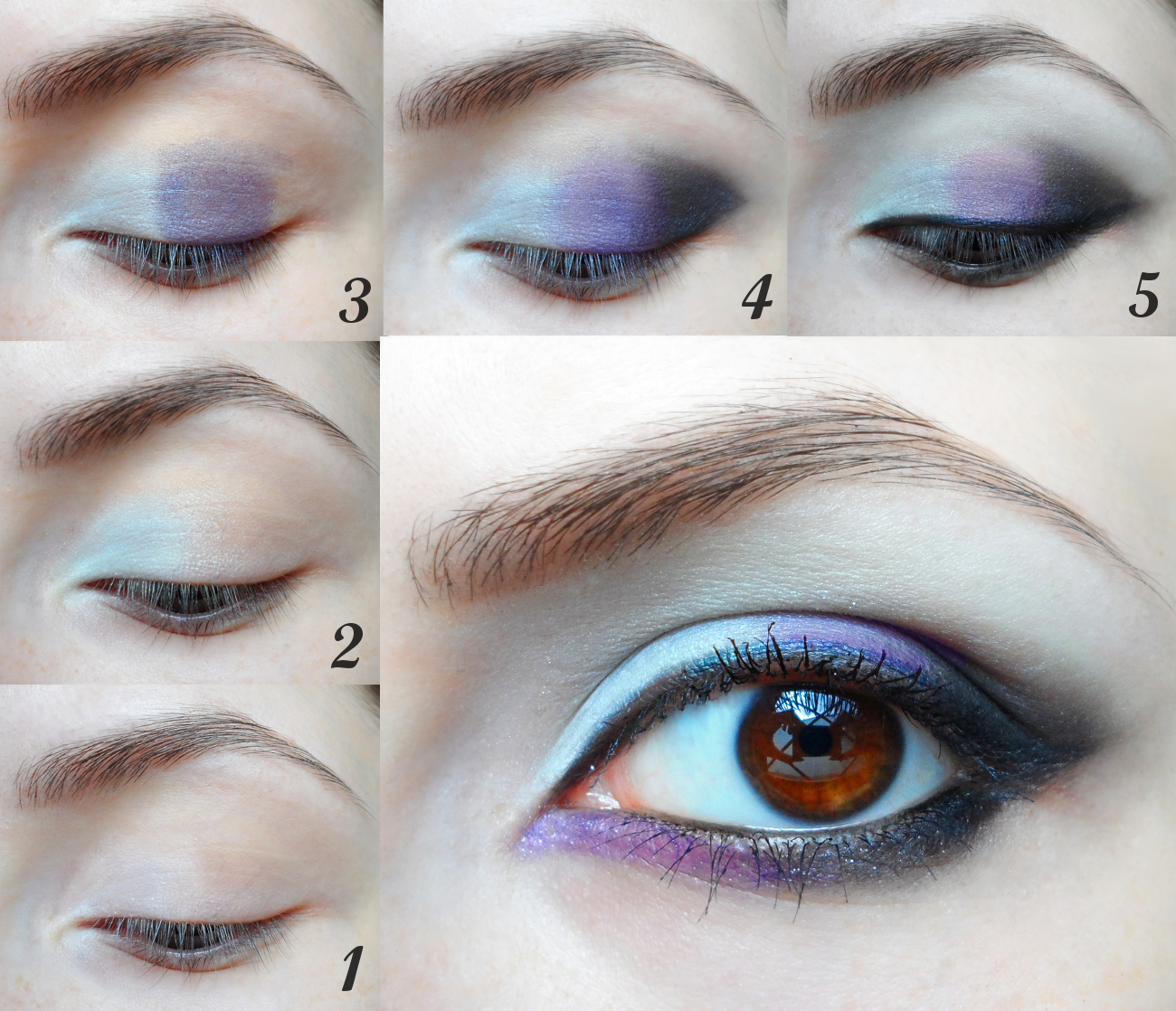 smoky eye step by step tutorial