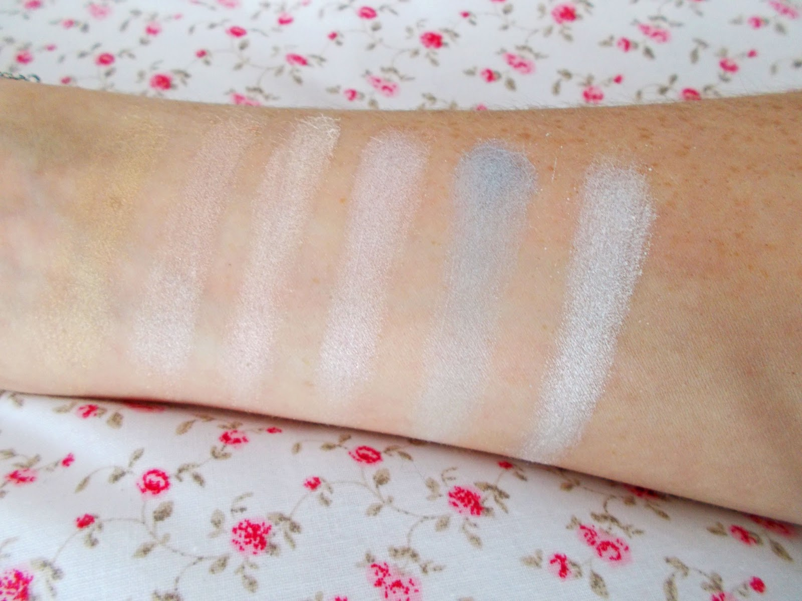 Beauty Success Palette swatches