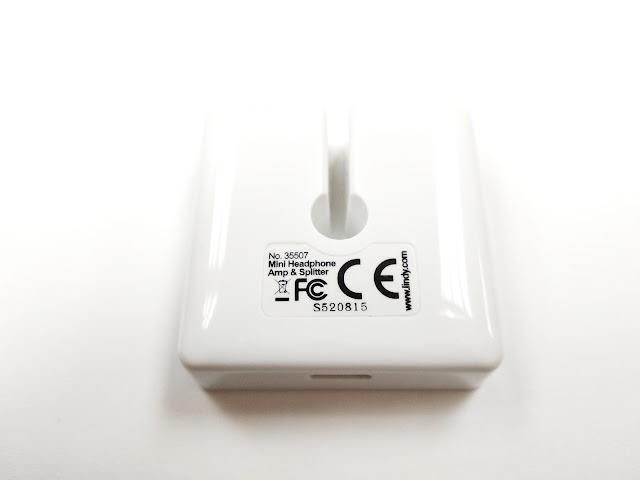 LINDY 35507 「銀豆腐」迷你耳機類比分配放大器之殘虐測試!