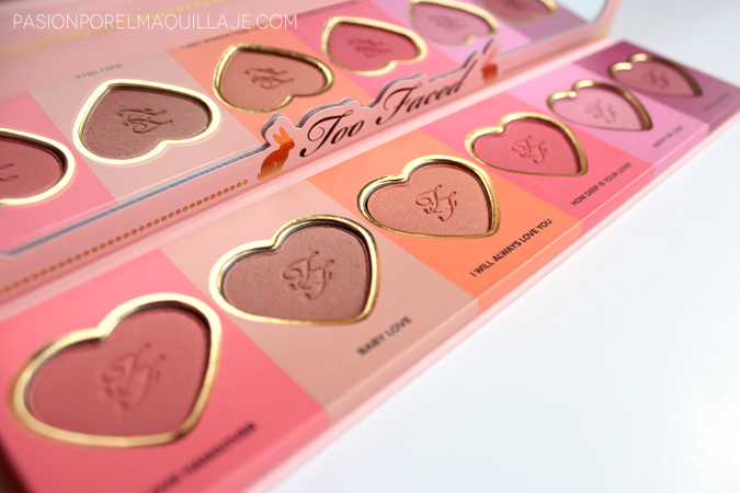 Paleta de coloretes Love Flush Blush Palette
