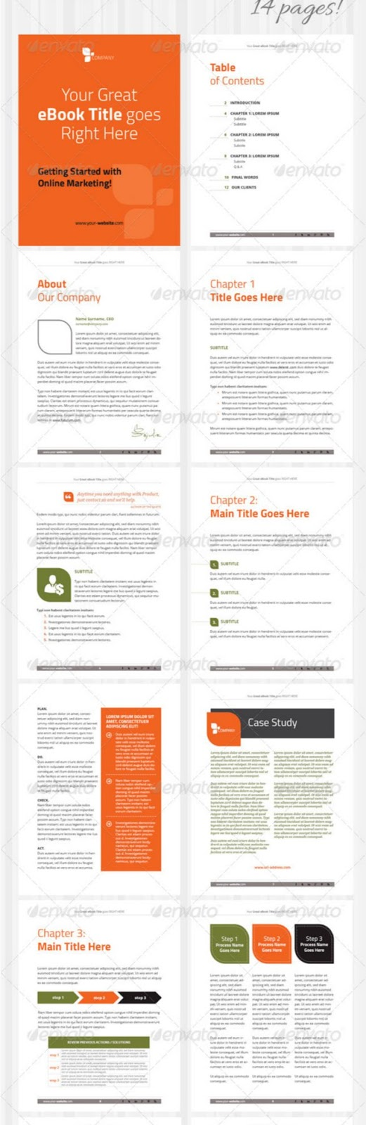 67 Best eBook Templates InDesign & ePub Format To Easily Create ...