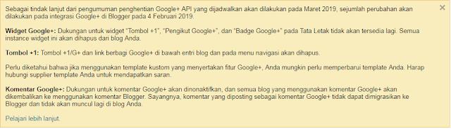 3 langkah bersihkan blog dari google+