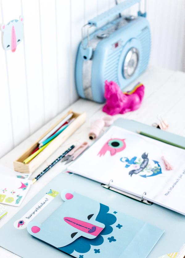 Beschäftigungsideen bei schlechtem Wetter: Das kostenlose DIY Kinder Kreativ-Buch für die Ferien!