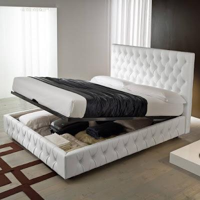 pat  cu lada depozitare-matrimonial