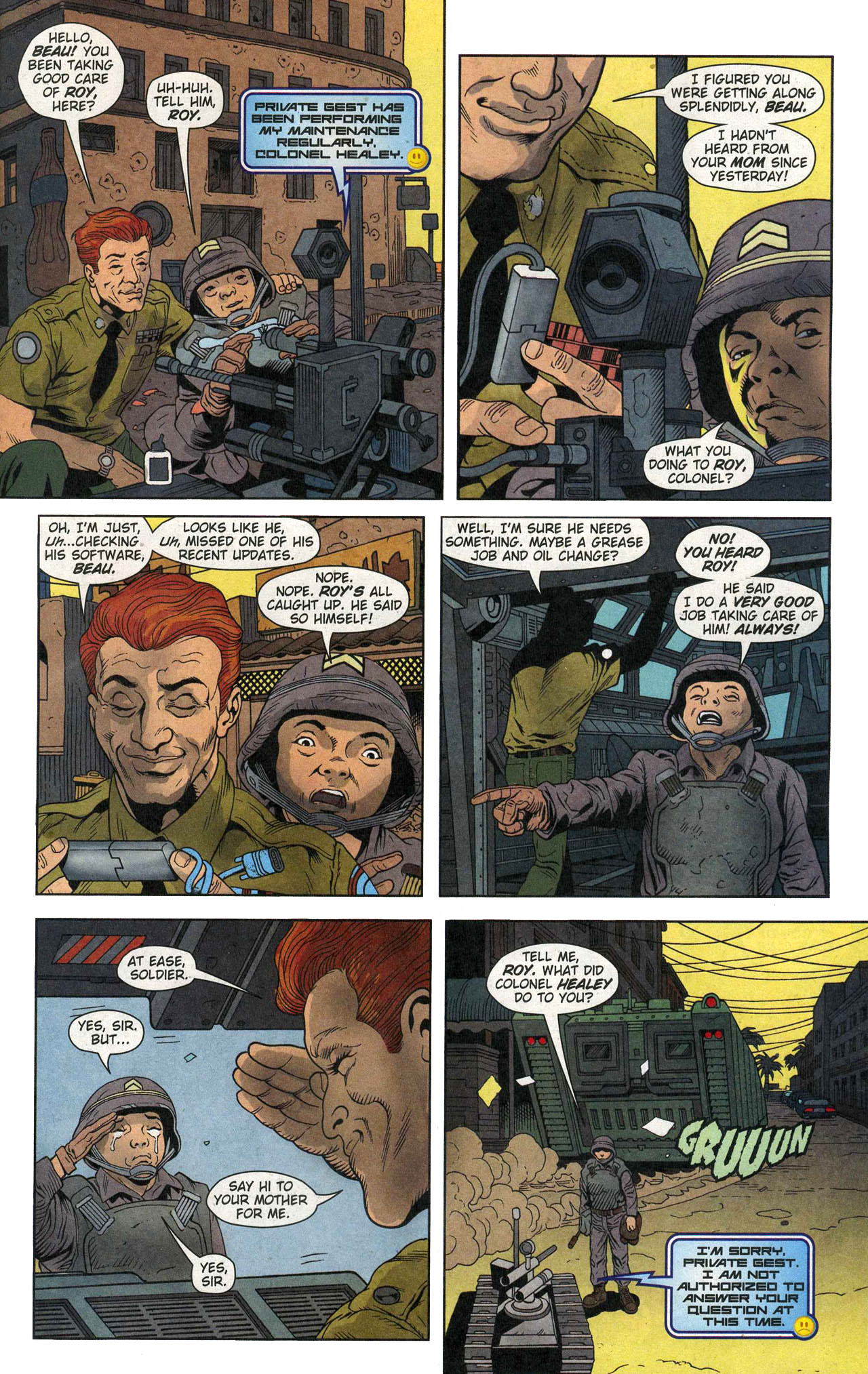 Read online Army @ Love comic -  Issue #1 - 17