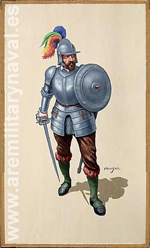 Tercios españoles: espada