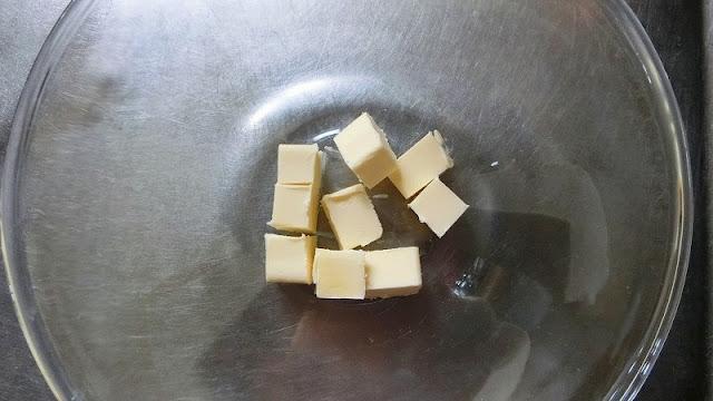 バターを調理前に室温に戻しておく。