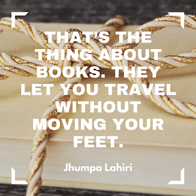 That's the thing about books. They let you travel without moving your feet. #books #readeveryday