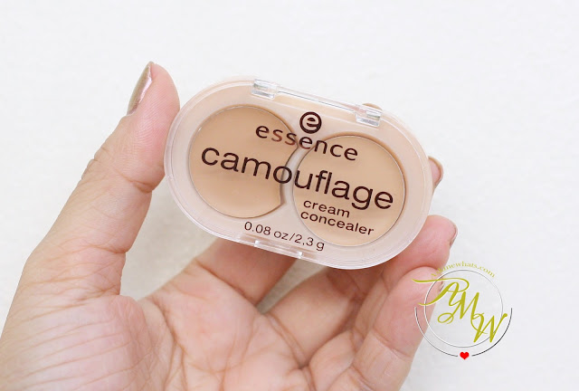a photo of Essence Camouflage Concealer Review in Natural Beige