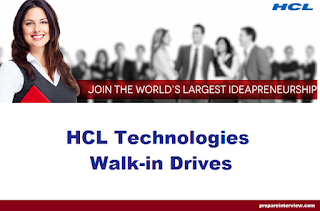 HCL Technologies Off Campus Drive for Freshers On February 2017